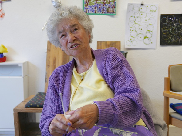 Ethel Wicks, regular visitor